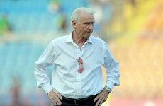 Trapattoni claims Irish people more passionate about rugby than soccer