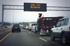 Boston drivers given to-the-point road signs…. do we need some in Ireland?