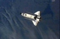 Endeavour departs International Space Station for the final time