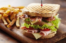 Where does Ireland sit on the international Club Sandwich Index?