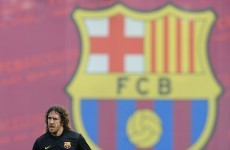 No grand farewell for Puyol as Barca captain ruled out of La Liga decider