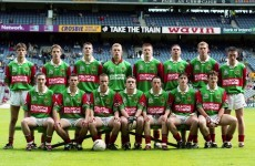 'It was hard to field anything around him' - Billy Joe on his Mayo minor days with Gavin Duffy
