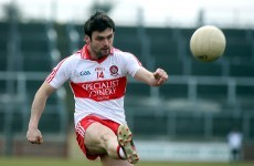 No Derry return for Bradley due to soccer commitments