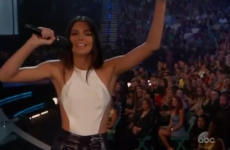 Kendall Jenner's mortifying autocue fail at last night's Billboard awards