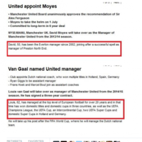 Here's how Twitter reacted to Louis van Gaal's appointment as United boss