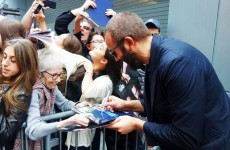 Chris O'Dowd tweets heart melting photo to make his mammy proud