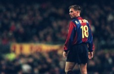 Ronald de Boer: 'I was scared of Van Gaal'