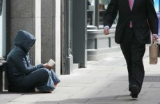A woman who is nine months pregnant was sleeping rough in Dublin last night