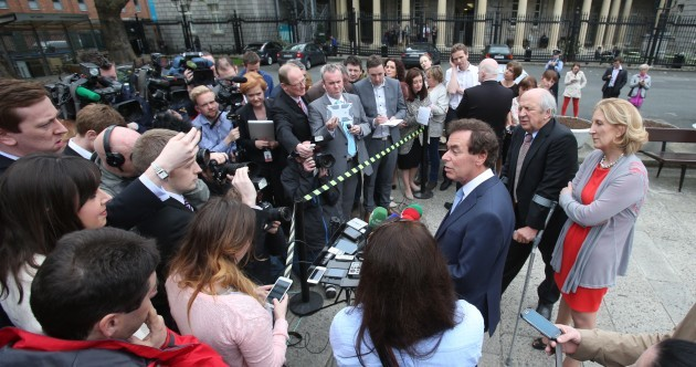"Alan Shatter: ""I'm going nowhere"""