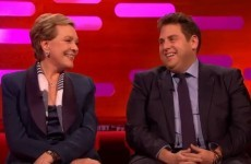 Julie Andrews reminded us that she's a global treasure on Graham Norton last night