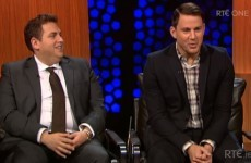 So Jonah Hill and Channing Tatum's Late Late interview was excruciatingly awkward