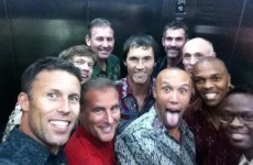Your 'Former Manchester United Players In A Lift' Selfie Of The Day