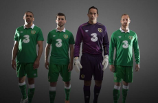 This is the new jersey Ireland will wear against Turkey today
