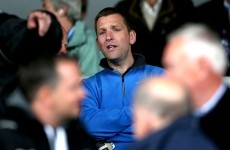 Snapshot: Ken McGrath was at Thurles today, as he recovers from open-heart surgery