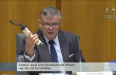 Australian politician smuggles 'pipe bomb' into parliament buildings