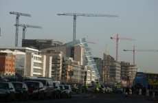 "NAMA promises ""the sight of cranes returning to Dublin's Docklands"""