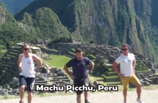 Three Irish lads Riverdance their way around the world