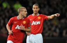 Gary Neville: Losing Vidic and Ferdinand is 'risky' for Man Utd