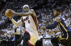 LeBron James pushes the Miami Heat ever closer to another NBA Finals