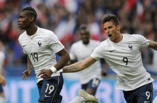 Olivier Giroud scores stunning strike for Les Bleus against Norway