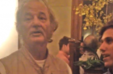 Bill Murray crashed a stag party and gave an amazing speech
