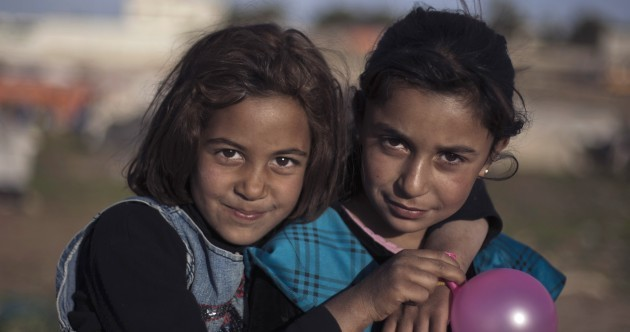 Faces of War: Syrian children make the most of makeshift homes