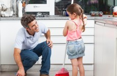 Dads who do household chores have more ambitious daughters