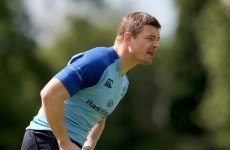 O'Driscoll starts for Leinster but O'Brien and Madigan named subs