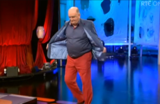 George Hook revealed waaay too much on the Saturday Night Show last night