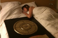Toulon's manager took the Top 14 trophy to bed with him last night