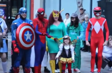 Is this fancy dress flash-mob proposal completely cringe or really sweet?