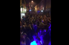 Silent disco inspires massive Let it Go singalong on Galway street