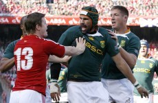 Former 7s star Hendricks set for 'Boks debut as Bakkies and Matfield reunite