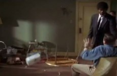 This compilation of cinematic table flips is strangely compelling
