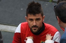 David Villa's off to Melbourne City before he heads for New York