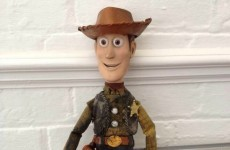 Driver tries to reunite Woody doll with his 'Andy' in real-life version of Toy Story
