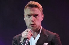 Ronan Keating is going to sing lead in the Once musical