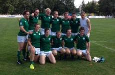 Dublin GAA star Hannah Tyrrell scored two tries for Ireland Women's Sevens today
