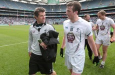 Johnny Doyle: 'When the Kildare team ran out onto Croke Park, I must admit I was a bit emotional'
