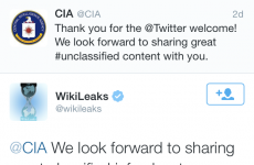 This Twitter burn by Wikileaks on the CIA is pretty epic
