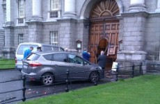Trinity College Dublin's Front Gate is to be repaired this week