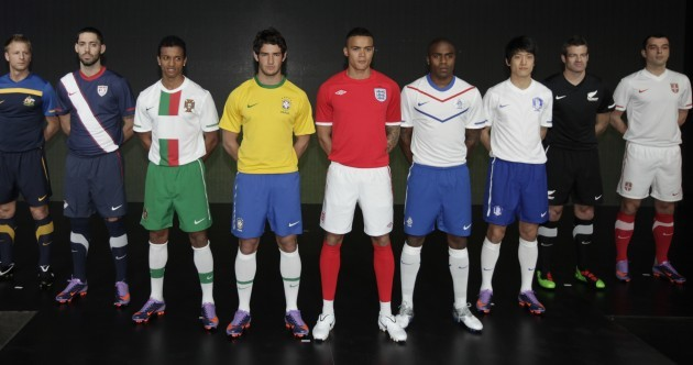 Kit suppliers hope to tear strips off rivals in World Cup