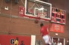 High school basketball player's 360-degree windmill dunk is ridiculous