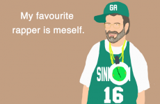 Finally, someone is illustrating Gerry Adams' tweets
