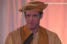 Jim Carrey gave some seriously good advice in a college speech
