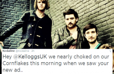 Kodaline think that Kellogg's new ad sounds VERY familiar