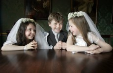 NOW the recession is officially over: families are spending more on First Communions