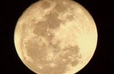 Take a look at the big, beautiful Friday 13 moon
