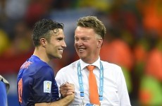 Robin van Persie hails 'inexplicable' Dutch win
