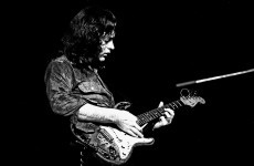 Rory Gallagher died 19 years ago today. Here he is being amazing.